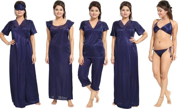 428414ea2e Noty Women Nighty Set - Buy Noty Women Nighty Set Online at Best ...