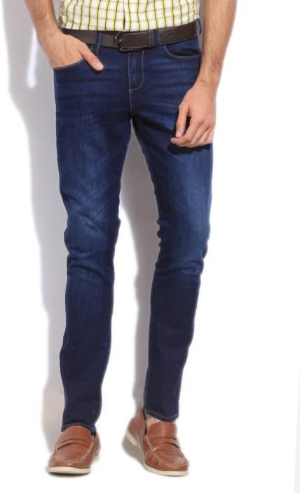 Wrangler Slim Men's Blue Jeans