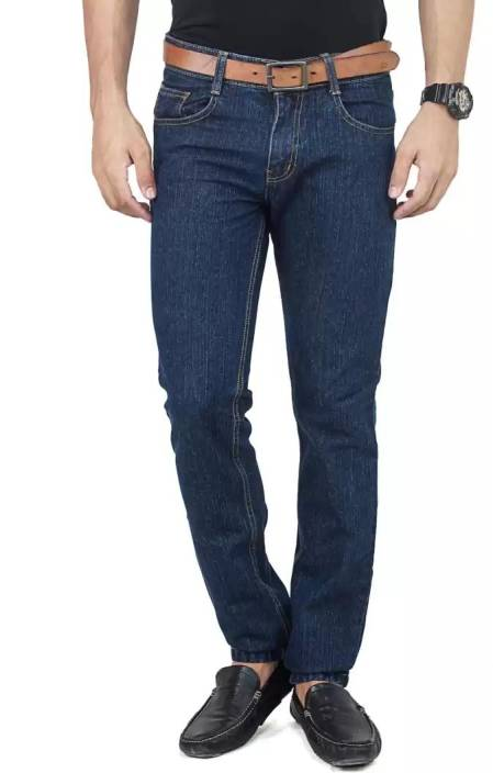 Uber Urban Regular Mens Dark Blue Jeans
