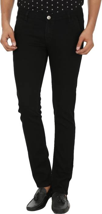 Alan Woods Slim Men's Black Jeans - Buy Black Alan Woods Slim ...