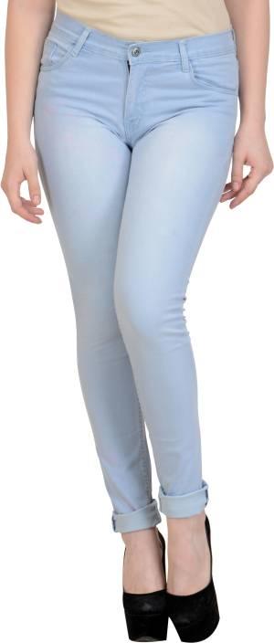 Vg store Slim Women's Light Blue Jeans
