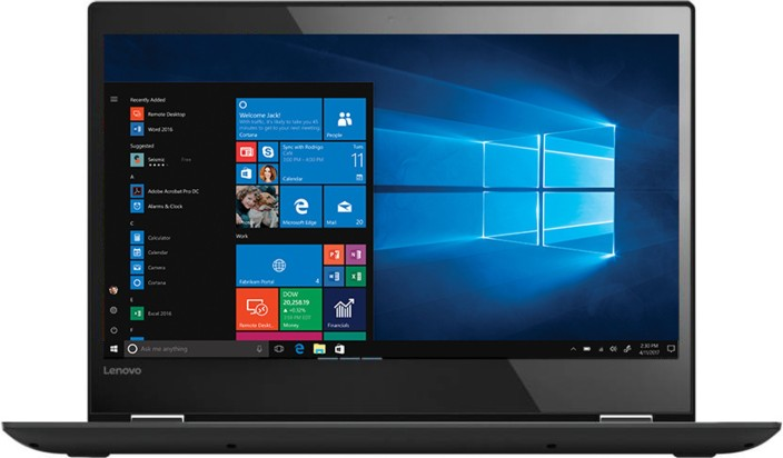 Lenovo Core i5 7th Gen - (8 GB/1 TB HDD/Windows 10 Home) Yoga 520 2 in 1 Laptop (14 inch, Black, 1.7 kg)