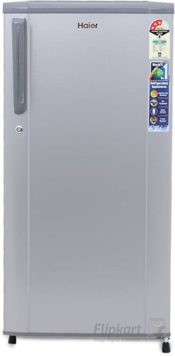 Haier 181 L Direct Cool Single Door 3 Star Refrigerator Moon Silver Hrd 1813bms R E