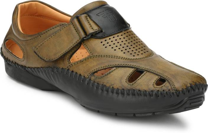 f29315445758d Fashion Victim Men Mehndi Sandals