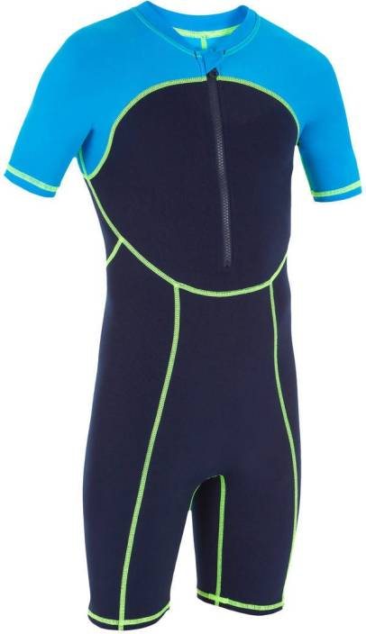 Nabaiji By Decathlon Full Body Swimsuit Self Design Boys Swimsuit