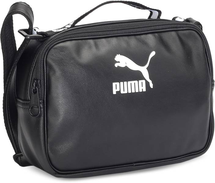 ef4058322a Buy Puma Shoulder Bag Puma Black-Puma White Online   Best Price in ...