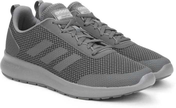 super popular 157d2 84c22 ADIDAS ELEMENT RACE Running Shoes For Men (Grey)
