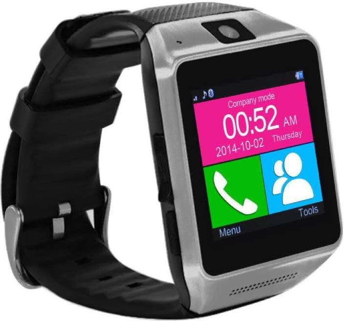 b4a6651ab Zrose 4G Mobile Watch Phone with Calling System Supports iOS   Android  Device Smartwatch (Black Strap Free Size)