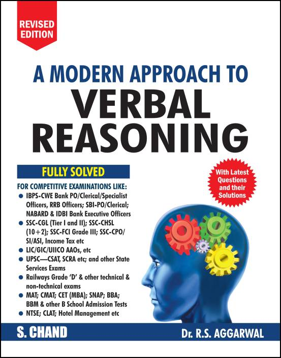 A Modern Approach to Verbal Reasoning : Includes Latest Questions and their Solutions