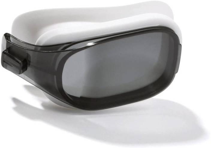 e7ac3537461a Nabaiji by Decathlon Selfit Optical Lens Corrective Swimming Goggles  Swimming Goggles (Grey)