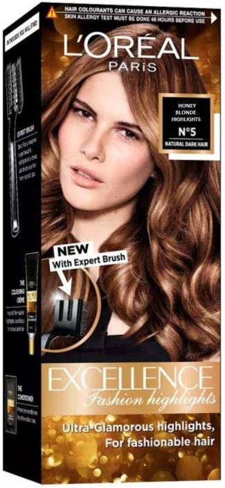 L Oreal Paris Honey Blonde Highlights No 5 Hair Color Price In