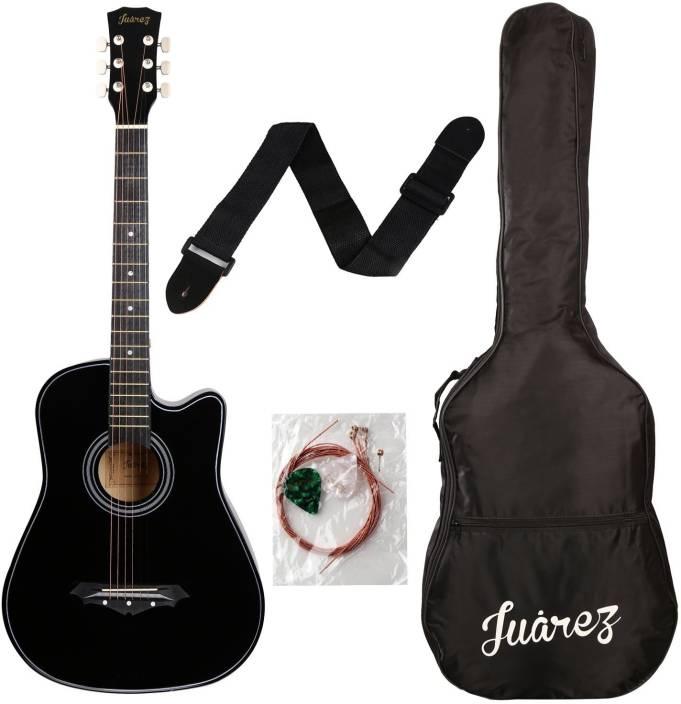 02078eb896f Juarez JRZ38CBK Linden Wood Acoustic Guitar Price in India - Buy ...