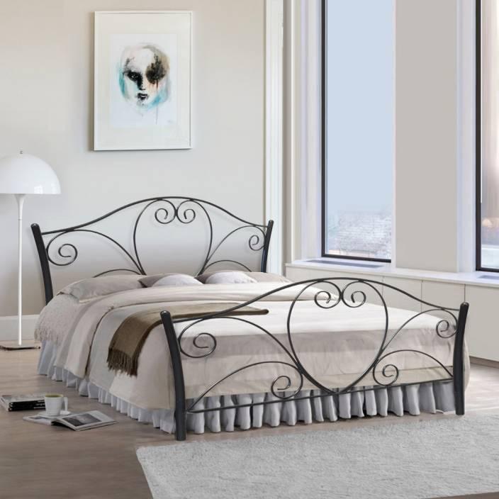 FurnitureKraft Atlanta Metal Queen Bed