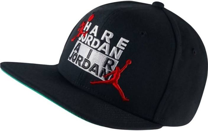 6c0bc09b1 Air Jordan Snapback Cap - Buy Air Jordan Snapback Cap Online at Best Prices  in India | Flipkart.com