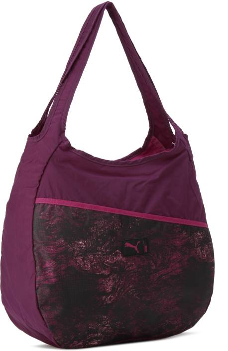 deb589c118 Buy Puma Shoulder Bag Dark Purple-Love Potion-graphi Online   Best ...