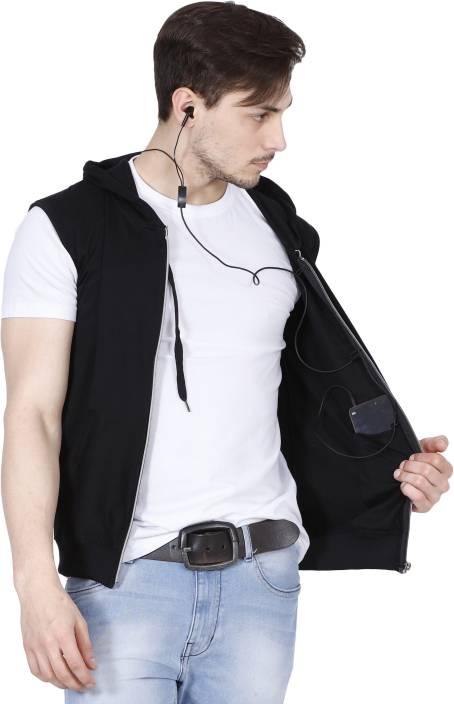 Fanideaz Sleeveless Solid Men's Jacket