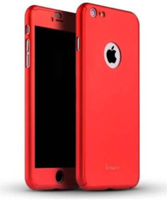 ec030fe1054ff COVERBLACK Front   Back Case for COVERBLACK Ipaky 360 Degree All-round  Protective Slim Fit Front And Back Case Cover for Apple iPhone 6 + Redwith  Tempered ...