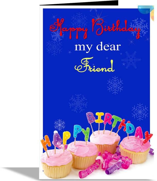 alwaysgift happy birthday my dear friend greeting card greeting card