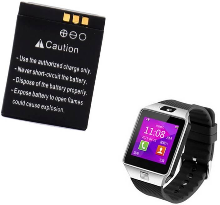 45b827d485b Osrpe Mobile Battery For Smart Watch DZ09 Smart Watch DZ09