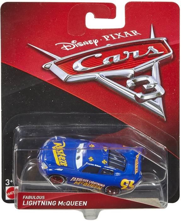 a3d22e45826 Mattel Disney Pixar Cars 3 Fabulous Lightning Mcqueen 1 64 Scale Car (Blue)