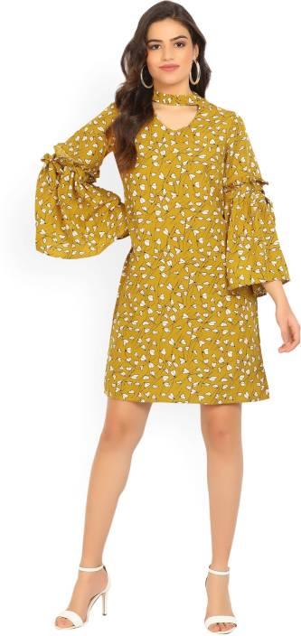 Tokyo Talkies Women's Shift Multicolor Dress