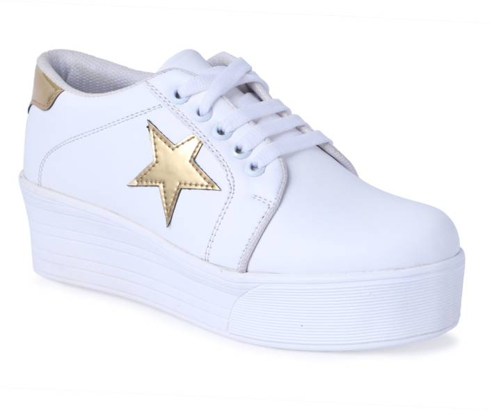 5d1416a5fab Shoe Fellow Girls Casual Shoes White color Original. Sneakers For Women ( White)