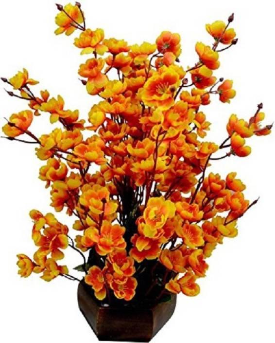 Kaykon Beautiful Artificial Flower Pot For Home Decor Flowers Office