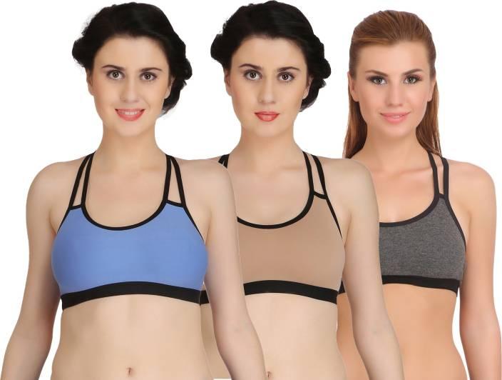 Fashion Comfortz by Fashion Comfortz Women, Girls, Girl's, Women's Sports Non Padded Bra