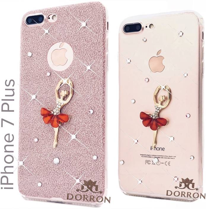 purchase cheap 96599 75c3b DORRON Back Cover for iPhone 7 Plus / 7Plus Stylish Dancing Girls ...