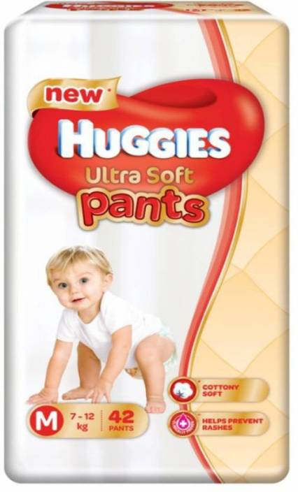 Huggies Ultra Soft Medium Size Premium Diapers - M