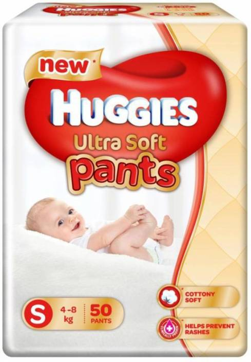 Huggies Ultra Soft Small Size Premium Diapers - S