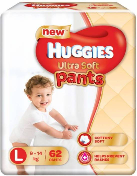 Huggies Ultra Soft Large Size Premium Diapers - L