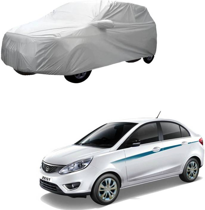 Autokraftz Car Cover For Tata Zest With Mirror Pockets