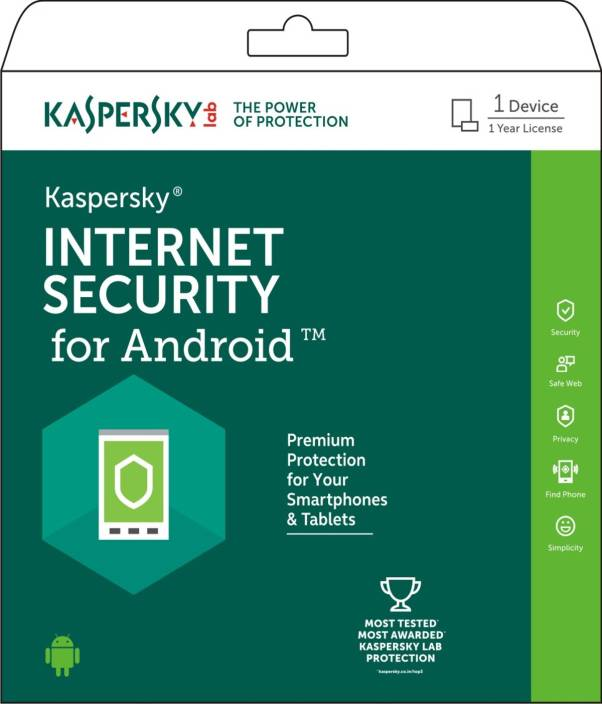 KASPERSKY Internet Security for Android 1 Device for 1 Year