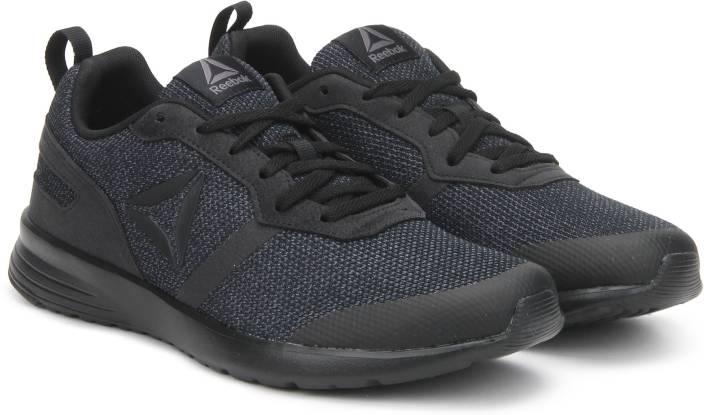 c97d30a3efbc92 REEBOK FOSTER FLYER Running Shoes For Men - Buy BLACK ASH GREY Color ...