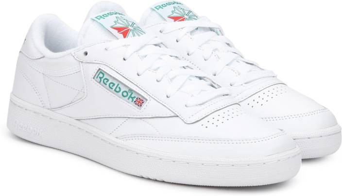 3f6a9342c6a804 REEBOK CLUB C 85 ARCHIVE Sneakers For Men - Buy WHITE GLEN GREEN ...