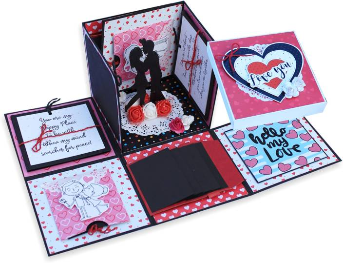Paperica Handmade Explosion Box Bonding Gift Greeting Card Price In