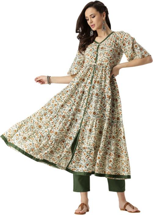 bc60f58dd Libas Women s Kurta and Pant Set - Buy Multicolor Libas Women s Kurta and Pant  Set Online at Best Prices in India