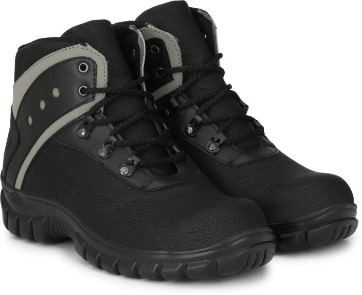 76b90a1adc3 Manslam Safety Shoe with Steel Toe Boots For Men