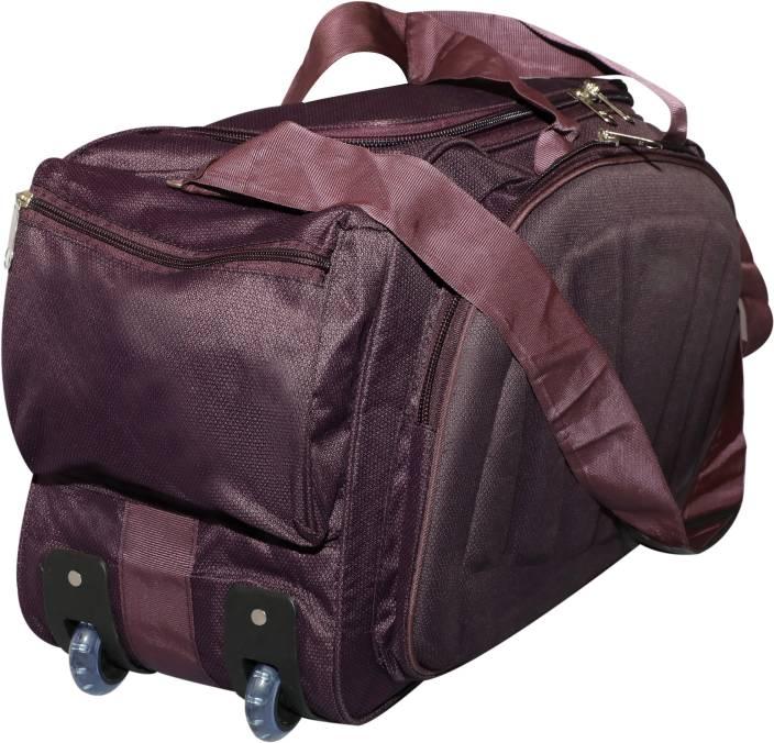 Inte Enterprises (Expandable) purple01 Duffel Strolley Bag