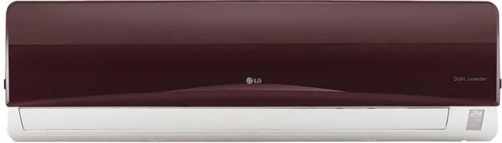 LG 1.5 Ton 3 Star BEE Rating 2018 Inverter AC - Nova Red