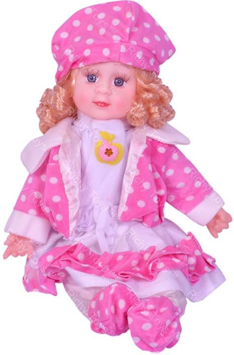 20e0aabd1 Sajani Soft Girl Singing Songs Baby Doll Toy - Soft Girl Singing ...