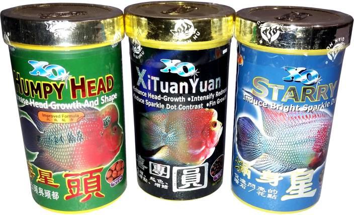 Set of 2 Ocean Free XO Flowerhorn Fish Food   Christmas gift