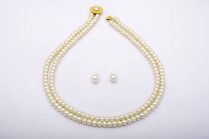 c3e8d3db5 Pearls Cart Mother of Pearl Jewel Set Price in India - Buy Pearls ...
