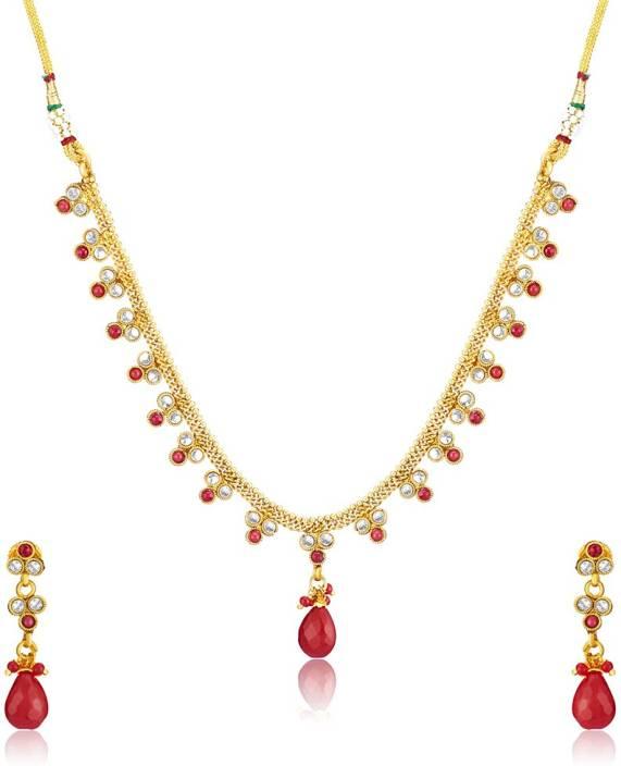 Donna Alloy Jewel Set