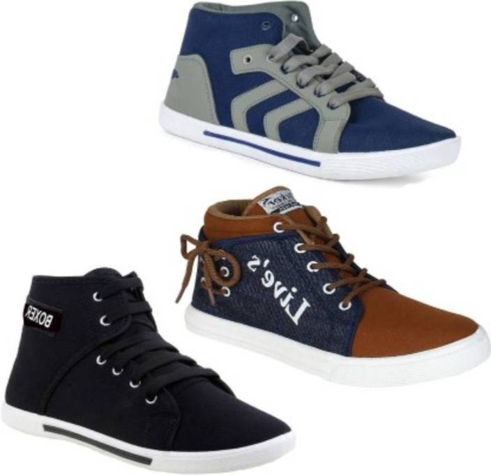 3caaf7535e3 WELDONE Stylish Combo s Sneakers For Men