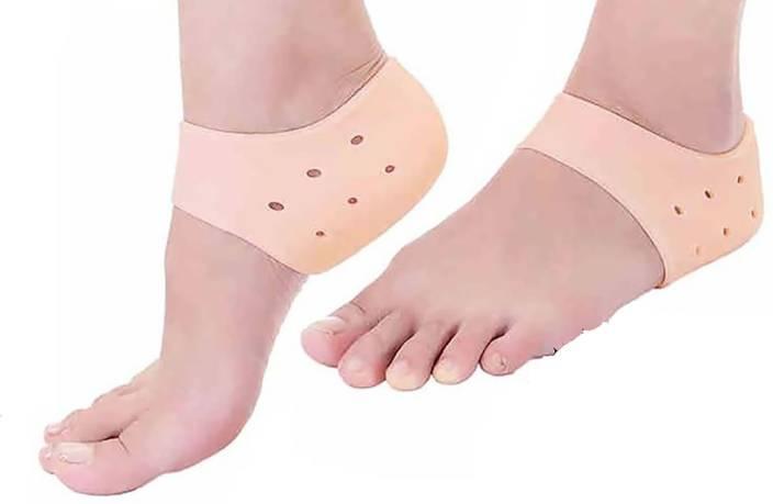 23dafeaa66 Zylocare Silicon Gel Heel Socks Pad Heel Pain Relief For Plantar Fasciitis  Arch Heel Support Foot