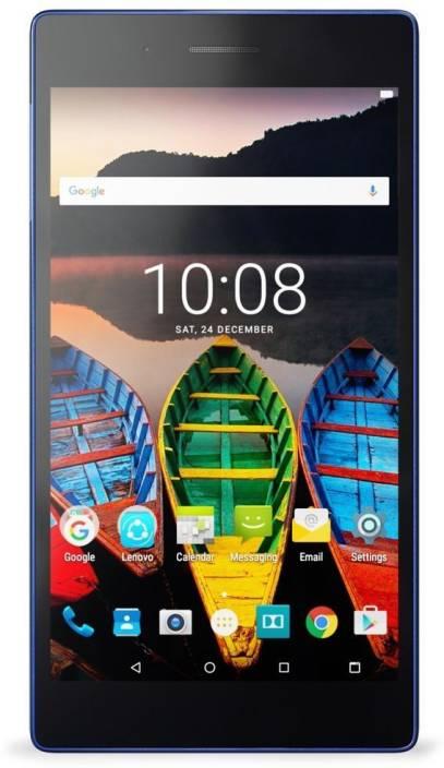 Lenovo Tab 3 730X 16 GB 7 inch with Wi-Fi+4G Tablet (Black & Blue