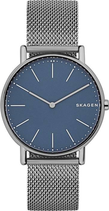 0dba14edd Skagen SKW6420 Skagen SKW6420 Women's Signatur Mesh Bracelet Strap Watch,  Gunmetal/Blue Watch - For Women - Buy Skagen SKW6420 Skagen SKW6420 Women's  ...
