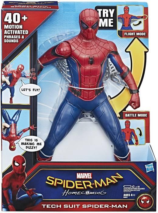Hasbro Marvel Spider-Man Homecoming Tech Suit Spider Man